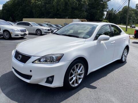 2011 Lexus IS 250 for sale at Luxury Auto Innovations in Flowery Branch GA