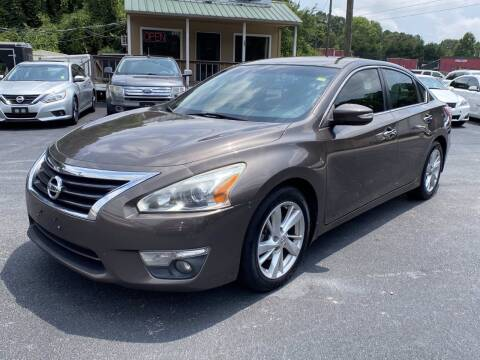 2013 Nissan Altima for sale at Luxury Auto Innovations in Flowery Branch GA