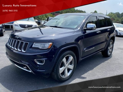2014 Jeep Grand Cherokee for sale at Luxury Auto Innovations in Flowery Branch GA