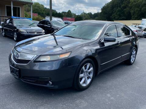 2013 Acura TL for sale at Luxury Auto Innovations in Flowery Branch GA