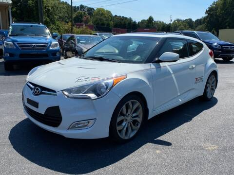 2012 Hyundai Veloster for sale at Luxury Auto Innovations in Flowery Branch GA