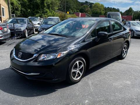 2015 Honda Civic for sale at Luxury Auto Innovations in Flowery Branch GA