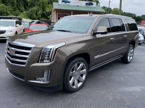 2016 Cadillac Escalade ESV for sale at Luxury Auto Innovations in Flowery Branch GA