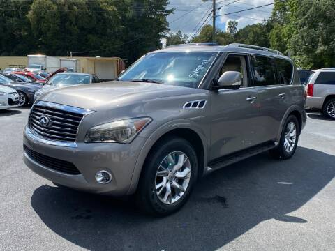 2011 Infiniti QX56 for sale at Luxury Auto Innovations in Flowery Branch GA