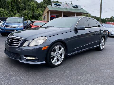 2013 Mercedes-Benz E-Class for sale at Luxury Auto Innovations in Flowery Branch GA