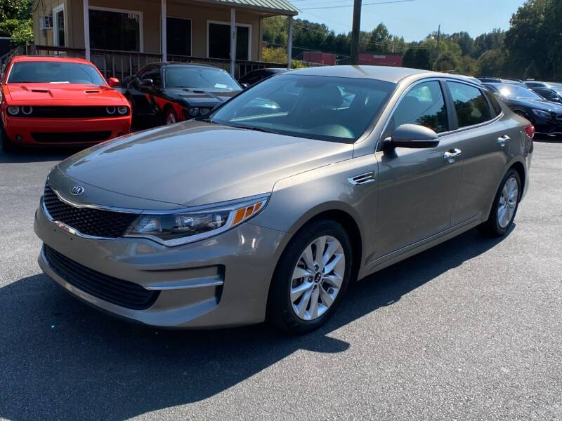 2017 Kia Optima for sale at Luxury Auto Innovations in Flowery Branch GA