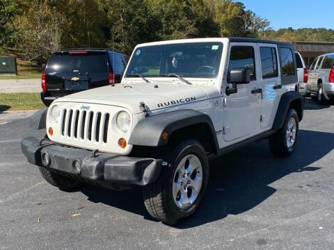 2009 Jeep Wrangler Unlimited for sale at Luxury Auto Innovations in Flowery Branch GA