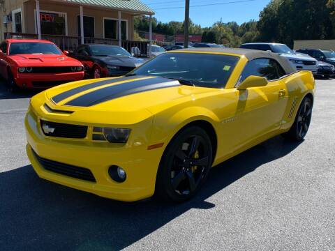 2012 Chevrolet Camaro for sale at Luxury Auto Innovations in Flowery Branch GA