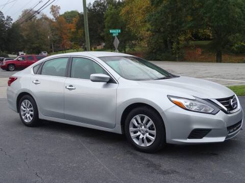 2018 Nissan Altima for sale at Luxury Auto Innovations in Flowery Branch GA