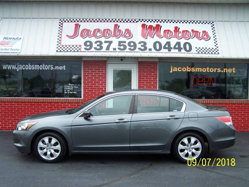 2010 Honda Accord For Sale At Jacobs Motors In Bellefontaine OH
