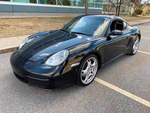 2007 Porsche Cayman for sale at Broadway Motor Sales and Auto Brokers in North Chelmsford MA