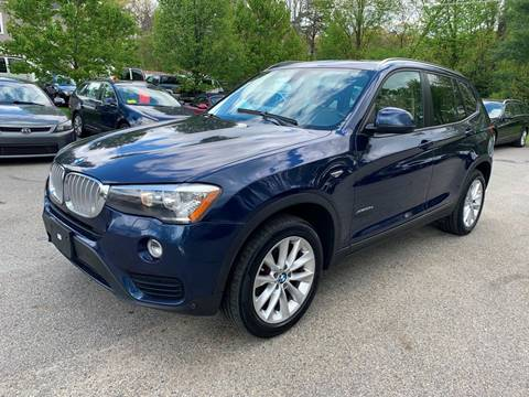 2015 BMW X3 for sale at Broadway Motor Sales and Auto Brokers in North Chelmsford MA