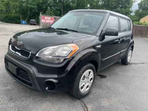 2012 Kia Soul for sale at Broadway Motor Sales and Auto Brokers in North Chelmsford MA