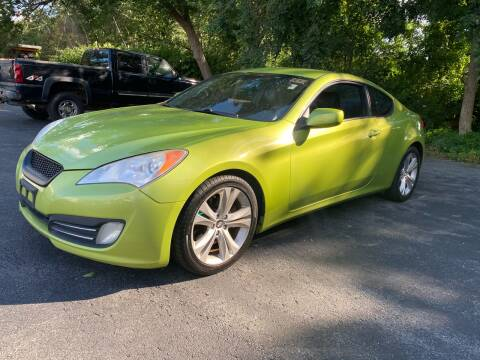 2010 Hyundai Genesis Coupe for sale at Broadway Motor Sales and Auto Brokers in North Chelmsford MA