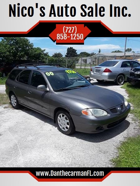 2000 Hyundai Elantra For Sale At Nicou0027s Auto Sale Inc. In New Port Richey FL
