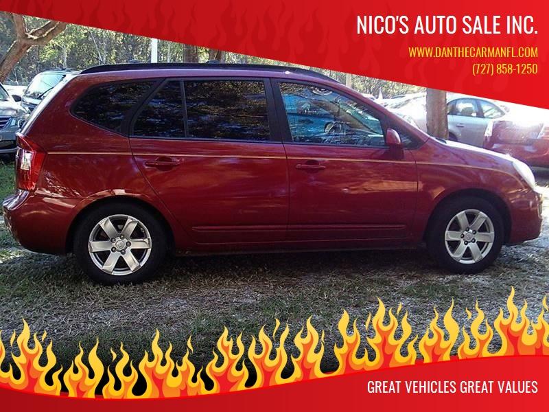 2008 Kia Rondo For Sale At Nicou0027s Auto Sale Inc. In New Port Richey FL