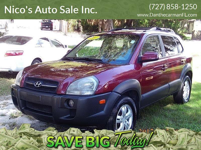 2007 Hyundai Tucson For Sale At Nicou0027s Auto Sale Inc. In New Port Richey FL