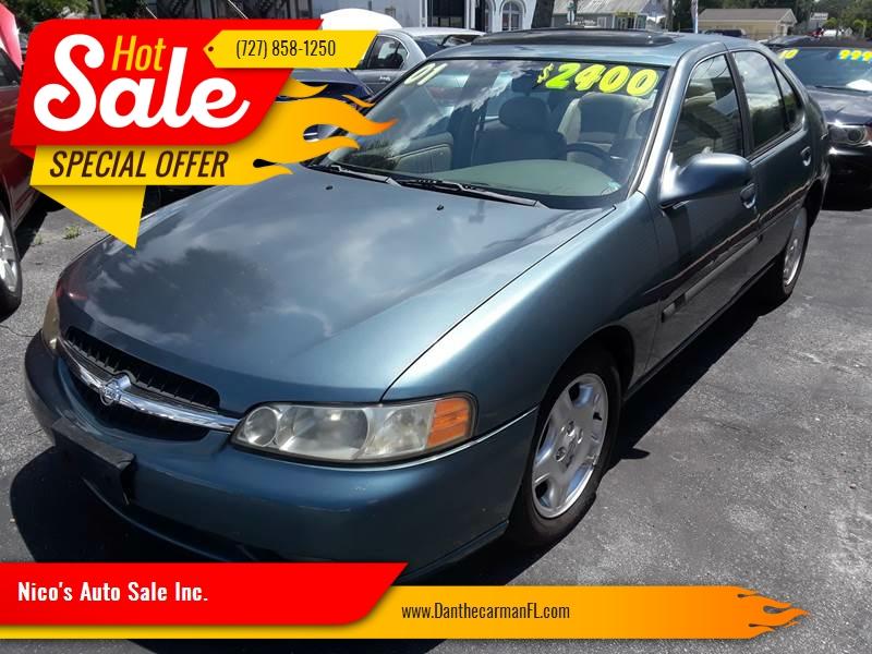2001 Nissan Altima For Sale At Nicou0027s Auto Sale Inc. In New Port Richey FL