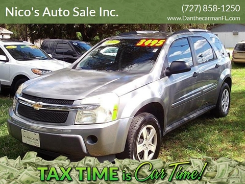Chevrolet Equinox For Sale In New Port Richey Fl Nico S