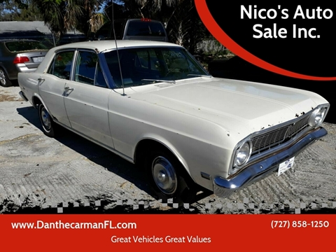1969 Ford Falcon for sale in New Port Richey, FL
