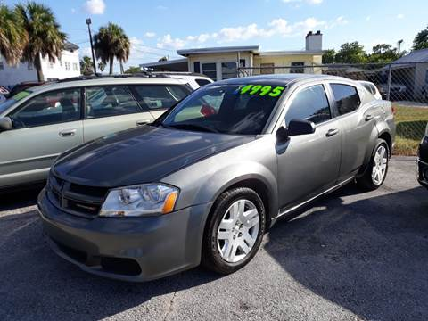 2012 Dodge Avenger for sale in New Port Richey, FL