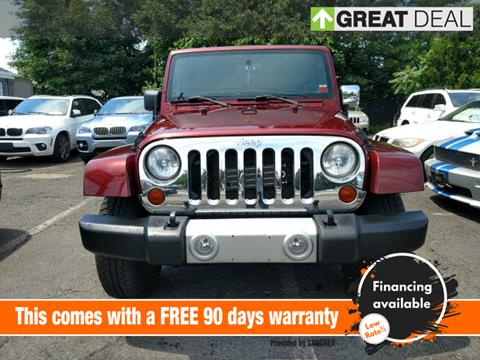 2010 Jeep Wrangler Unlimited for sale in Lodi, NJ