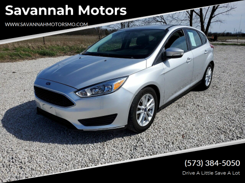 2016 Ford Focus SE for sale at Savannah Motors in Elsberry MO