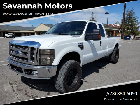 2010 Ford F-250 Super Duty XLT for sale at Savannah Motors in Elsberry MO