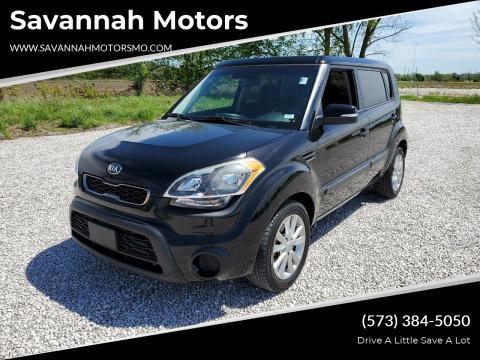 2013 Kia Soul + for sale at Savannah Motors in Elsberry MO