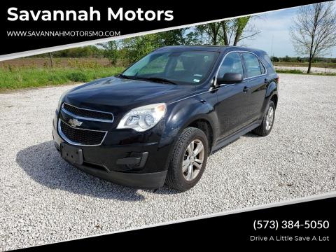 2013 Chevrolet Equinox LS for sale at Savannah Motors in Elsberry MO