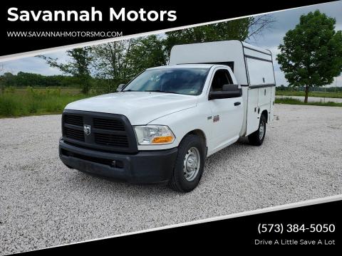 2012 RAM Ram Chassis 2500 Tradesman for sale at Savannah Motors in Elsberry MO
