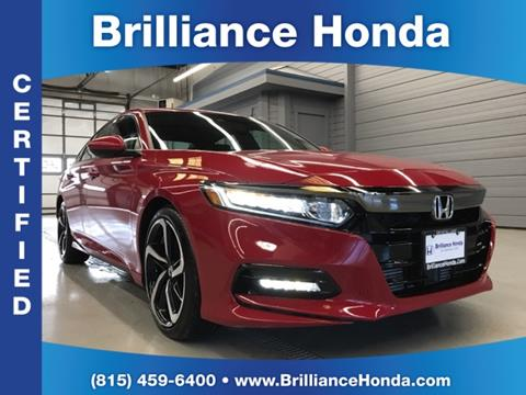 2018 Honda Accord for sale in Crystal Lake, IL
