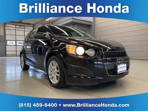 2015 Chevrolet Sonic LT Auto for sale at BRILLIANCE HONDA in Crystal Lake IL