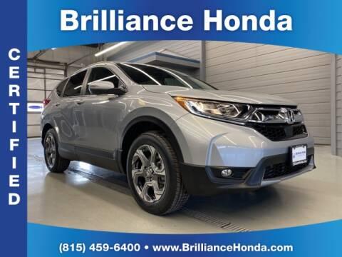 2019 Honda CR-V EX for sale at BRILLIANCE HONDA in Crystal Lake IL