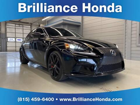 2015 Lexus IS 350 for sale at BRILLIANCE HONDA in Crystal Lake IL