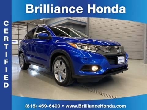 2019 Honda HR-V EX for sale at BRILLIANCE HONDA in Crystal Lake IL