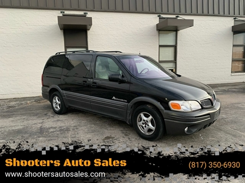 2001 Pontiac Montana for sale in Fort Worth, TX