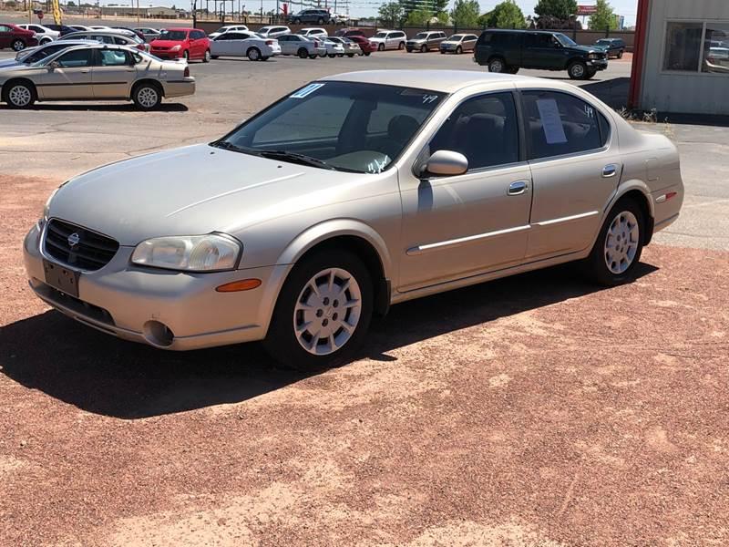 Superior 2001 Nissan Maxima For Sale At Autoworld In Farmington NM