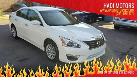 2014 Nissan Altima for sale in Houston, TX