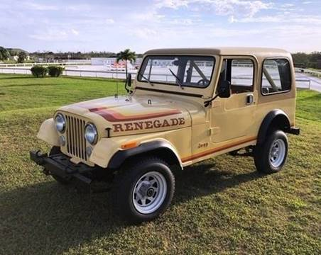 1982 Jeep Renegade for sale in Pompano Beach, FL