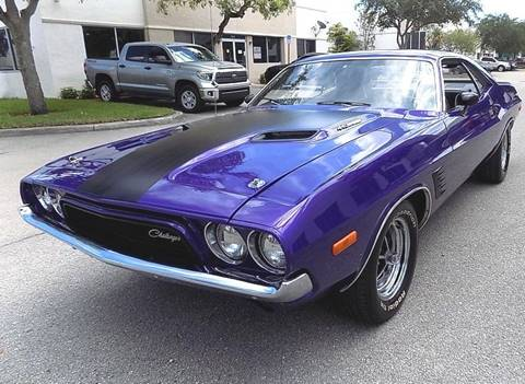 1972 Dodge Challenger For Sale In Pompano Beach Fl