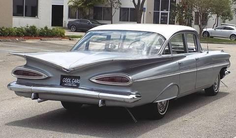 Chevrolet Bel Air >> 1959 Chevrolet Bel Air For Sale In Pompano Beach Fl