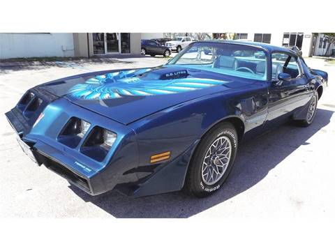 1979 Pontiac Firebird Trans Am for sale at COOL CARS in Pompano Beach FL