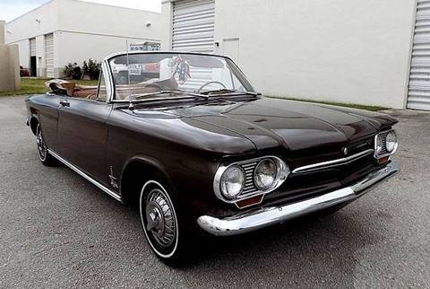 1963 Chevrolet Corvair for sale at COOL CARS in Pompano Beach FL