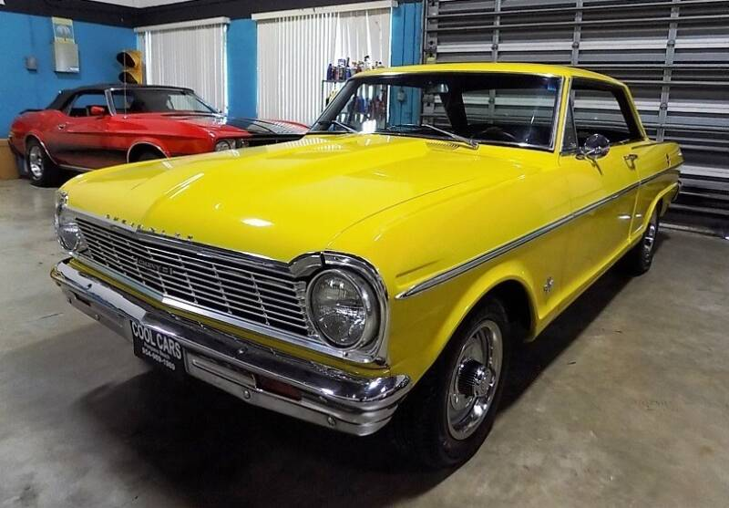 1965 Chevrolet Nova for sale at COOL CARS in Pompano Beach FL