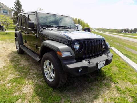2018 Jeep Wrangler Unlimited for sale at Northland Auto Center Inc in Milaca MN