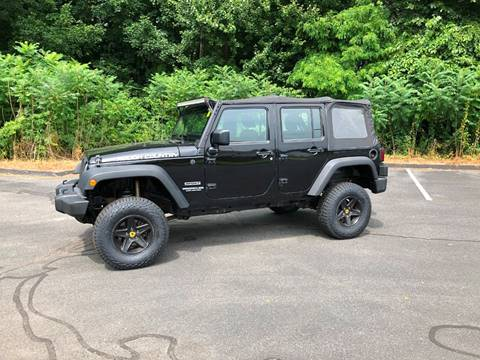 2012 Jeep Wrangler Unlimited for sale in Agawam, MA
