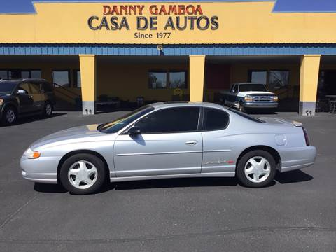 2001 Chevrolet Monte Carlo for sale in Las Cruces, NM