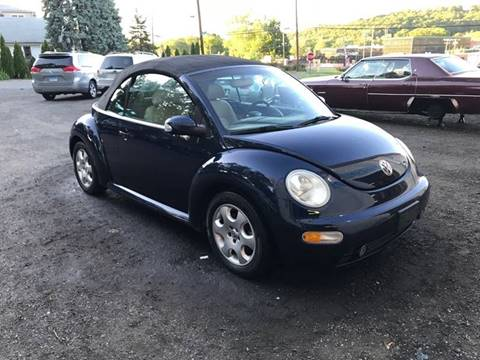 2003 Volkswagen New Beetle for sale at Techno Motors in Danbury CT