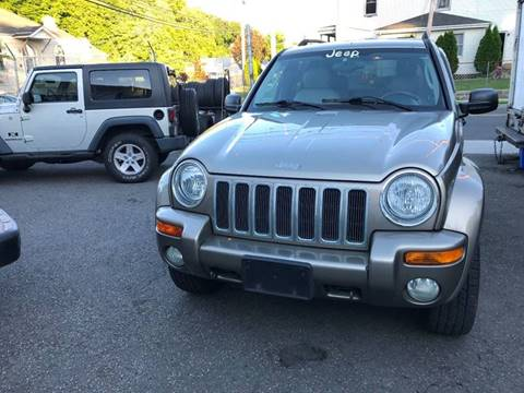 2004 Jeep Liberty for sale at Techno Motors in Danbury CT